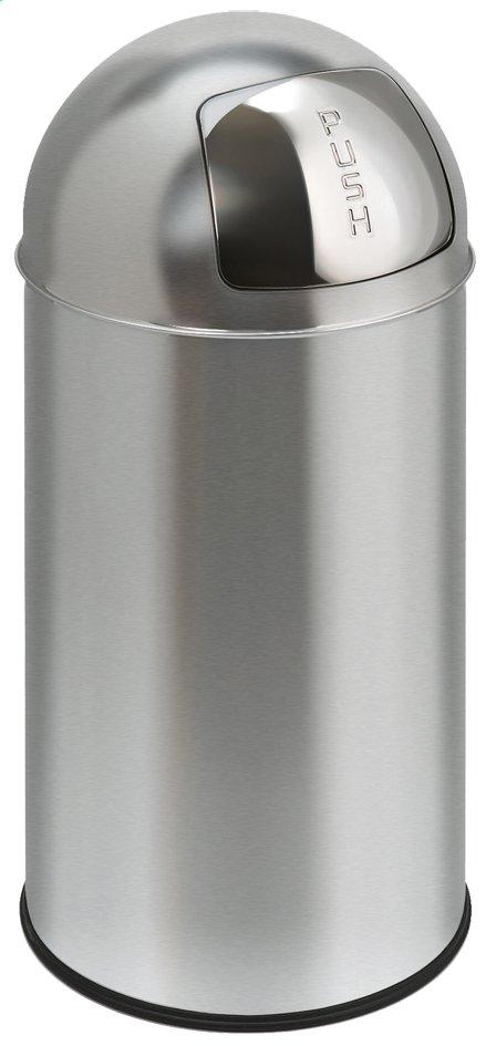 Image pour Eko poubelle Pushcan 40 l mat chrome à partir de ColliShop