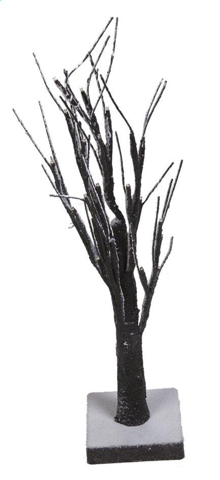 Afbeelding van Decoratie met ledverlichting besneeuwde boom warm wit from ColliShop