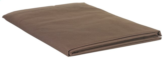 Afbeelding van Sleepnight beddenlaken chocolat flanel 240 x 300 cm from ColliShop