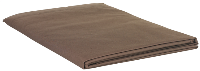 Afbeelding van Sleepnight beddenlaken chocolat flanel 280 x 300 cm from ColliShop