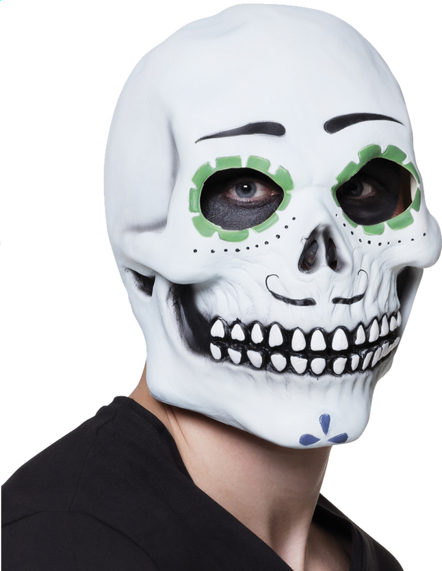 Afbeelding van Masker Day of the dead from ColliShop