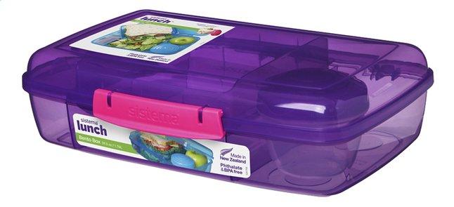 Sistema lunchbox Bento Box Duo mauve