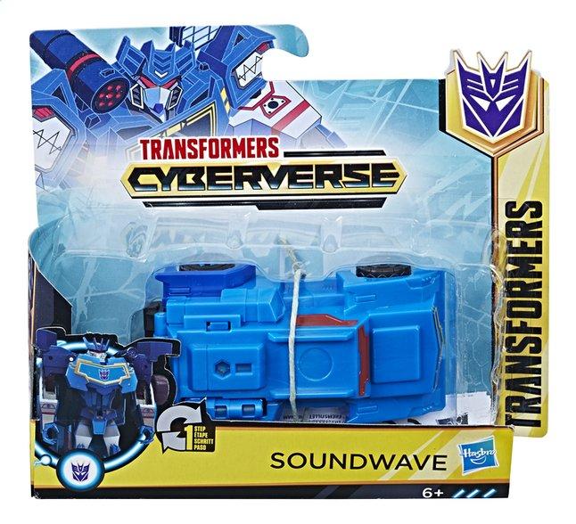 Image pour Transformers Cyberverse robot 1-step Changers - Soundwave à partir de ColliShop