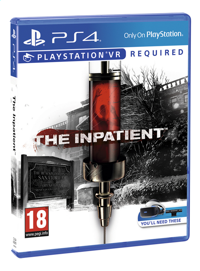 Image pour PS4 The Inpatient VR FR/ANG à partir de ColliShop