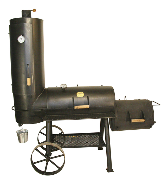Afbeelding van Oklahoma houtbarbecue Basic Chuckwagon from ColliShop