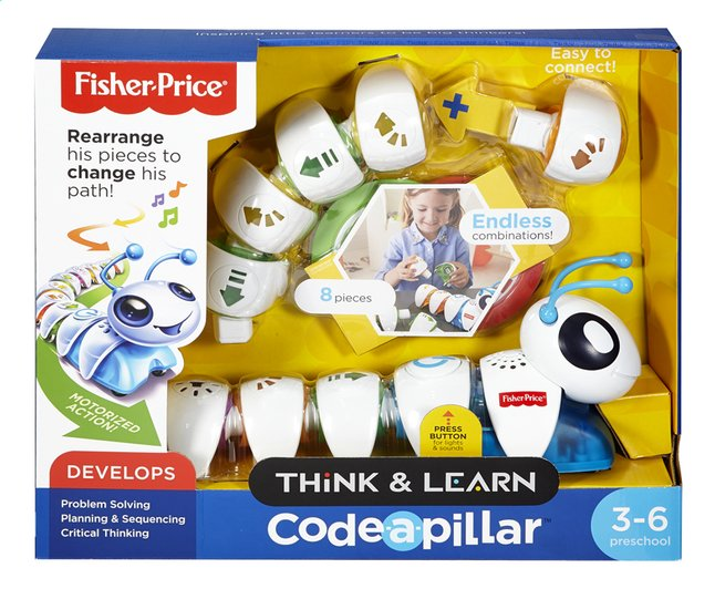 Afbeelding van Fisher-Price Denken en Leren Co-de-Rups from ColliShop