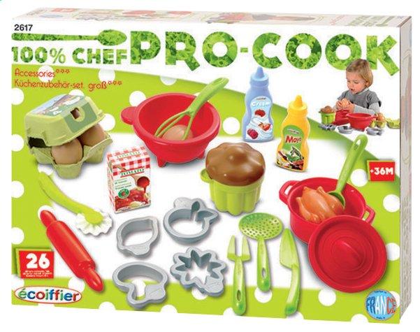 Écoiffier accessoires de cuisine 100% chef Pro-Cook