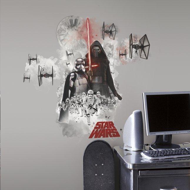 Image pour Stickers muraux Star Wars VII Vilain à partir de ColliShop