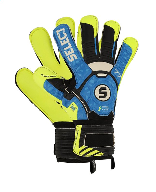 Select gants gardien 03 Youth noir/bleu/jaune