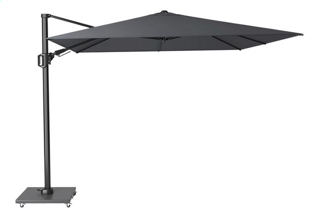 Platinum parasol suspendu Challenger T2 aluminium 3 x 3 m Anthracite