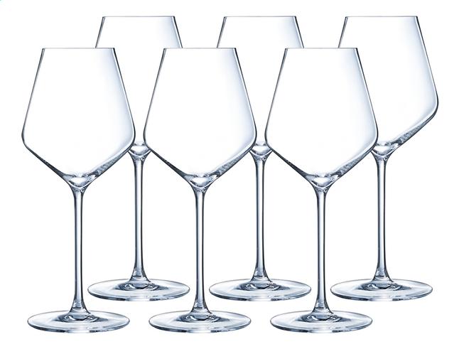Cristal Darques Verres.Eclat Cristal D Arques Paris 6 Verres A Vin Rouge Ultime 47 Cl