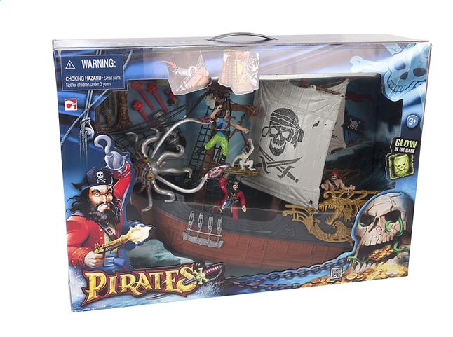 Image pour Set de jeu Pirates Captain Ship à partir de ColliShop
