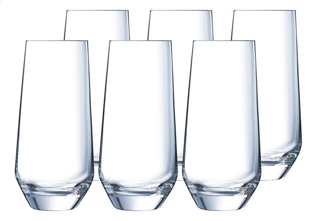 Image pour Eclat Cristal d'Arques Paris 6 verres à eau Ultime 45 cl à partir de ColliShop