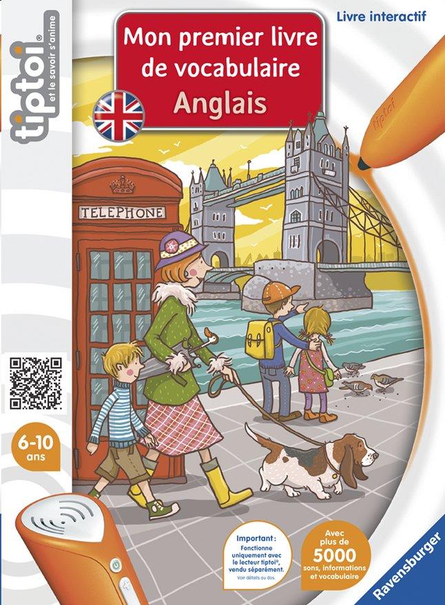 Image pour Ravensburger Tiptoi Mon premier livre de vocabulaire Anglais à partir de ColliShop