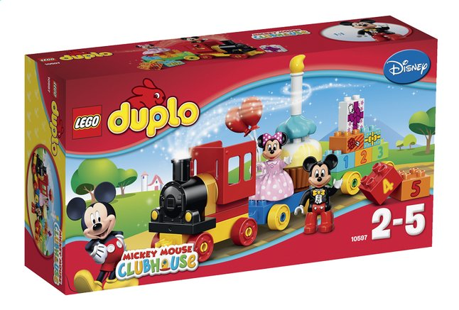 Afbeelding van LEGO DUPLO Mickey Mouse Clubhouse 10597 Mickey & Minnie Verjaardagsoptocht from ColliShop