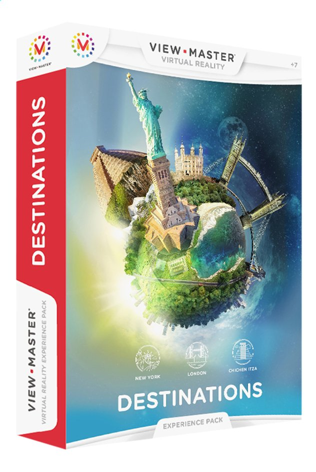 Image pour View-Master Virtual Reality Experience Pack Bestemmingen NL à partir de ColliShop