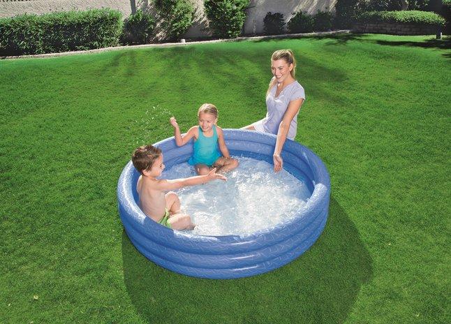 Bestway zwembad voor kinderen Play pool Ø 152 cm blauw