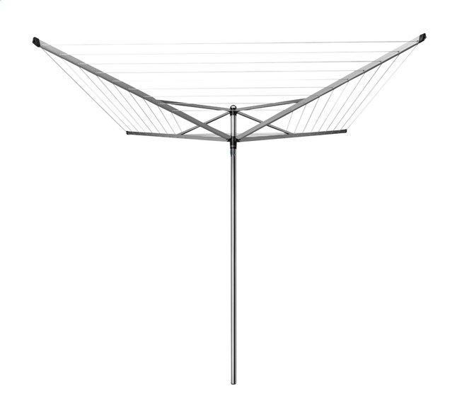 Brabantia Séchoir-parapluie Topspinner 50 m metallic grey
