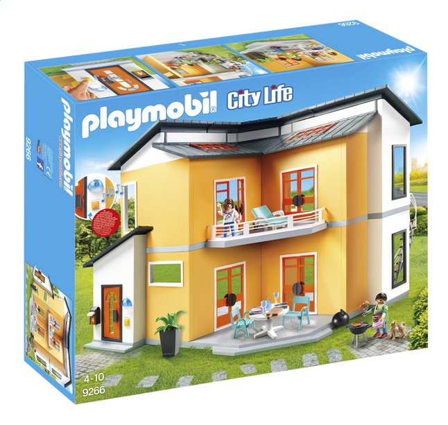 PLAYMOBIL City Life 9266 Modern woonhuis | ColliShop