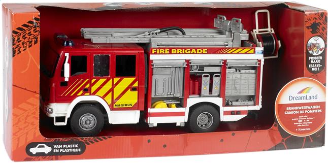Afbeelding van DreamLand brandweerwagen 30 cm from ColliShop