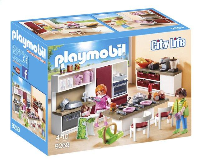 PLAYMOBIL City Life 9269 Leefkeuken | ColliShop