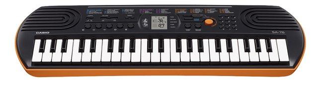 Afbeelding van Casio keyboard SA-76 from ColliShop