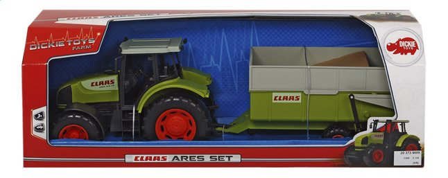 Afbeelding van Dickie Toys tractor Claas Ares Set from ColliShop