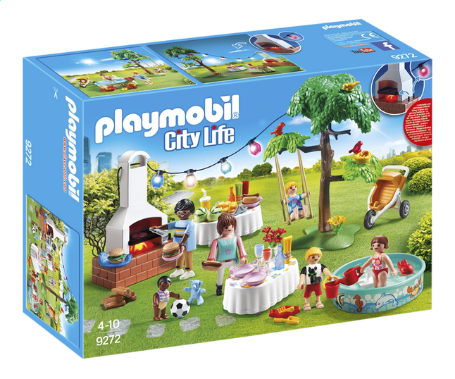 PLAYMOBIL City Life 9272 Familiefeest met barbecue | ColliShop