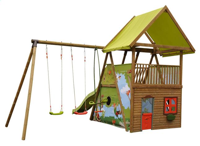 Image pour Ensemble portique Grand Chêne avec tobbogan à partir de ColliShop