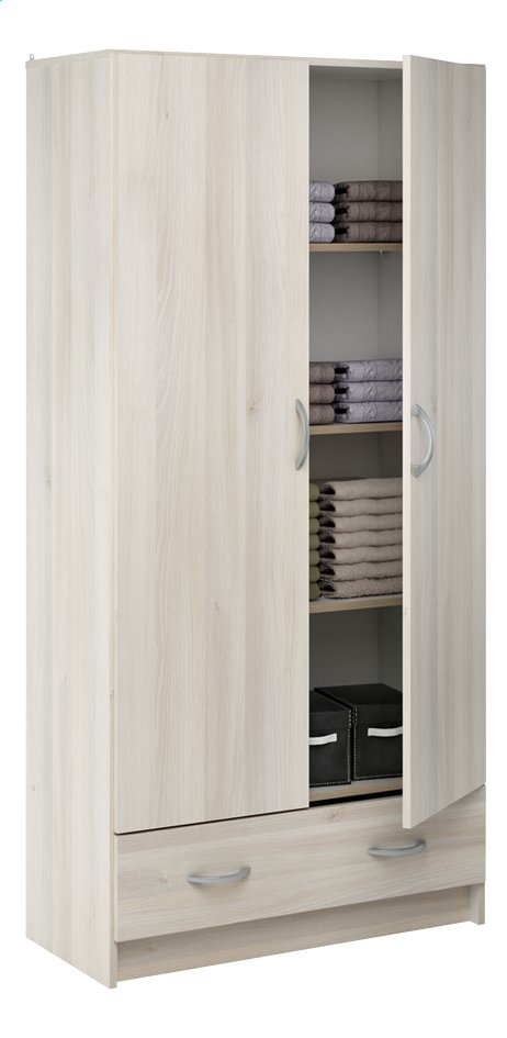 Conforama armoire 2 portes latest lovely armoire penderie for Meuble demeyere conforama