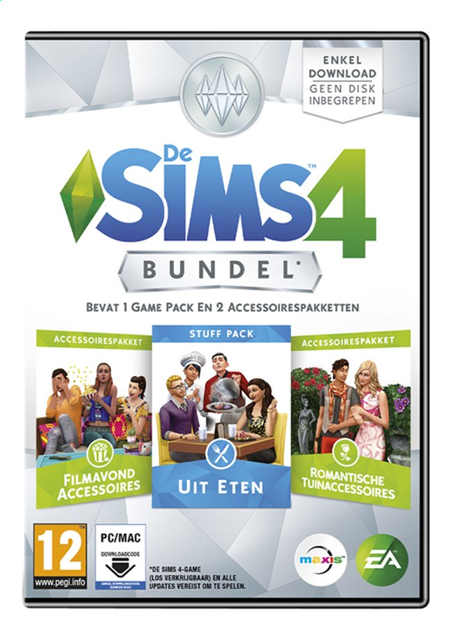 Afbeelding van Pc De Sims 4 Bundel 5 NL from ColliShop