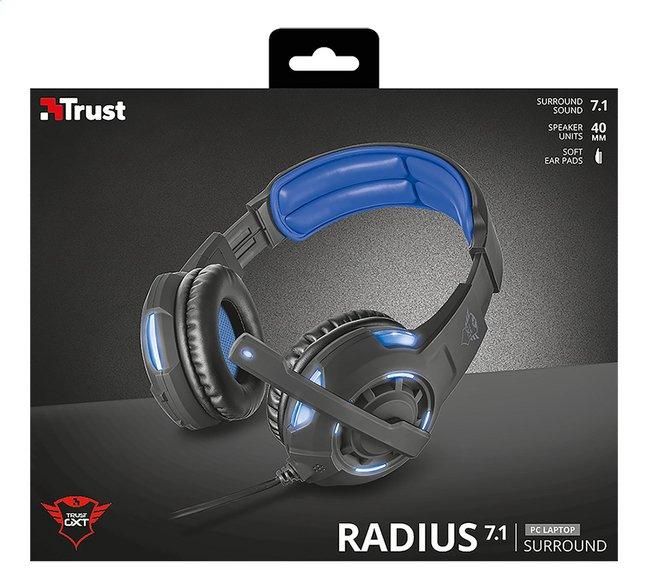 Image pour Trust casque-micro GXT 350 Radius 7.1 à partir de ColliShop