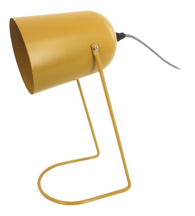 Bureaulamp Enchant Iron matt Ochre Yellow