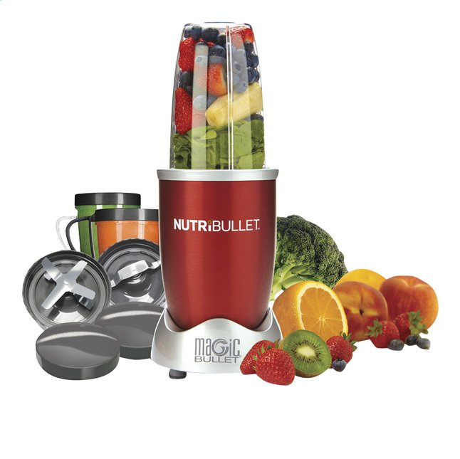 Image pour Magic Bullet Blender NutriBullet rouge 12 pièces à partir de ColliShop