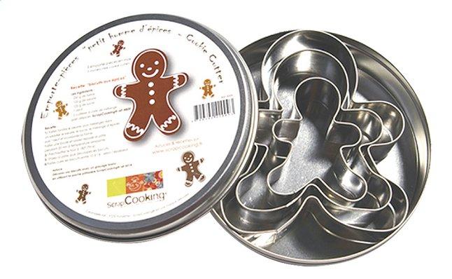 Image pour Scrap Cooking Emporte-pièce 3 bonshommes à partir de ColliShop