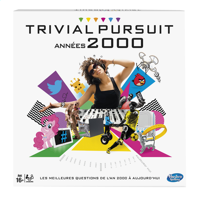 Afbeelding van Trivial Pursuit Années 2000 FR from ColliShop