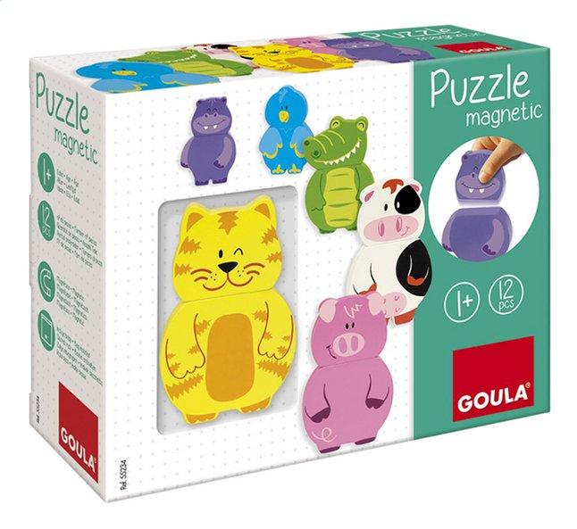 Afbeelding van Goula magnetische puzzel Dieren from ColliShop
