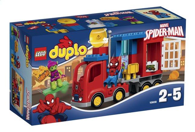 Afbeelding van LEGO DUPLO 10608 Spider-Man Spider Truck avontuur from ColliShop