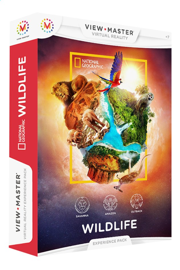Afbeelding van View-Master Virtual Reality Experience Pack Dierenwereld from ColliShop