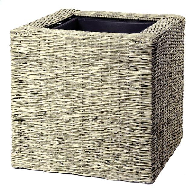 Image pour MCollections jardinière Umero Cubi beige 50 cm à partir de ColliShop