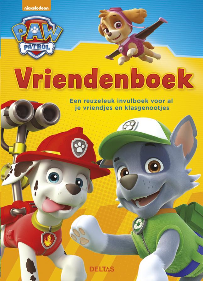 Image pour Vriendenboek PAW Patrol NL à partir de ColliShop