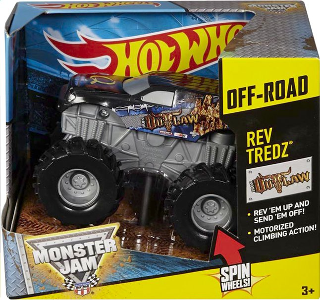 Image pour Hot Wheels Monster Jam Iron Outlaw à partir de ColliShop