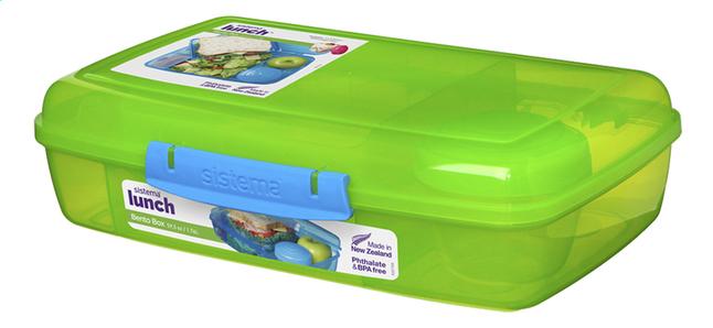 Image pour Sistema lunchbox Bento Box Duo lime à partir de ColliShop
