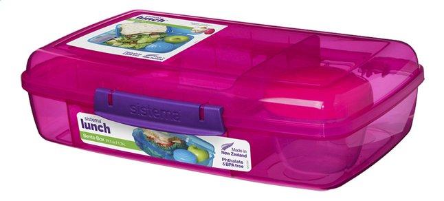 Image pour Sistema lunchbox Bento Box Duo rose à partir de ColliShop