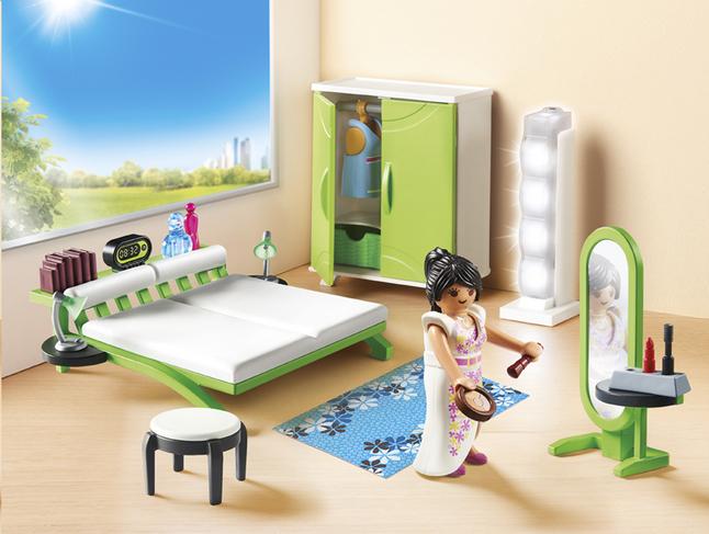 Playmobil Keuken 9269 : Playmobil city life slaapkamer met make up tafel collishop