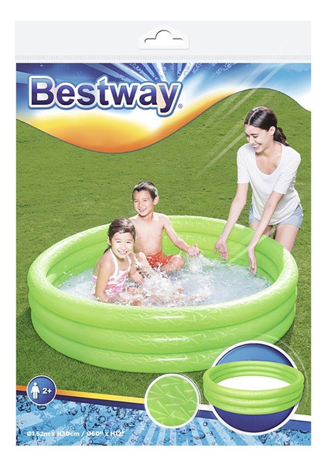 Afbeelding van Bestway zwembad voor kinderen Play pool Ø 152 cm groen from ColliShop