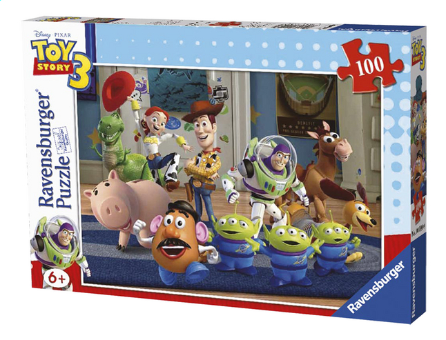 Afbeelding van Ravensburger puzzel Toy Story 3: Woody & Buzz from ColliShop