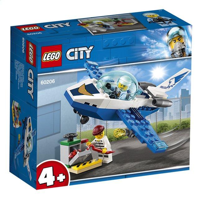 Image pour LEGO City 60206 Le jet de patrouille de la police à partir de ColliShop