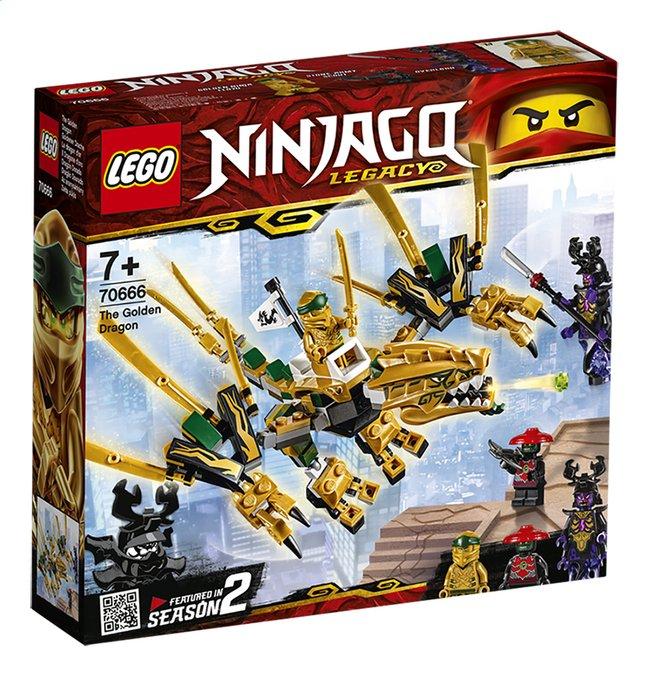 Image pour LEGO Ninjago 70666 Le dragon d'or à partir de ColliShop