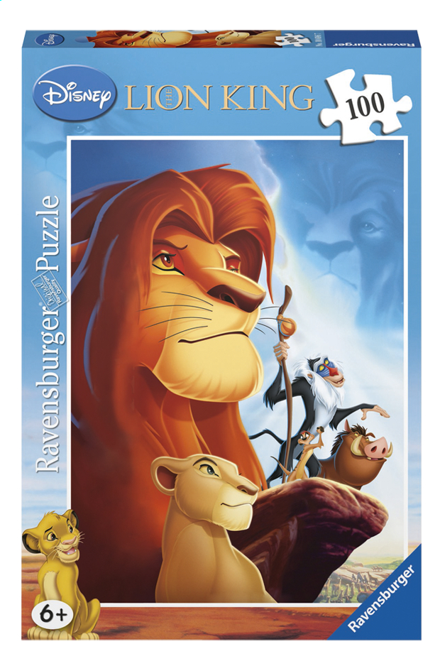 Afbeelding van Ravensburger puzzel The Lion King from ColliShop